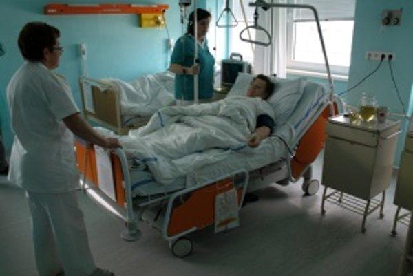 Pacienti si na novom ôžku budú môcť užiť vyšší komfort ako na bežnej posteli.