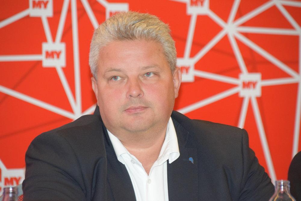 Martin Erdössy, generálny riaditeľ Železníc Slovenskej republiky .