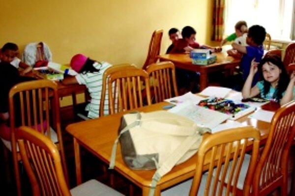 Deti v CVČ Kamarát. V Centre bude možnosť prihlásenia sa do tábora len pre členov.