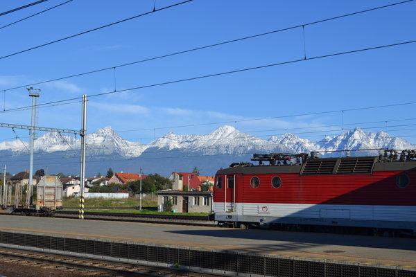 Cestovanie pod Tatrami.