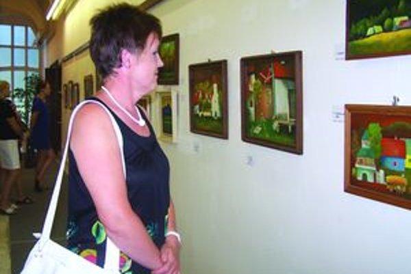 Výstava M. Vladára k blížiacej sa šesťdesiatke výtvarníka.