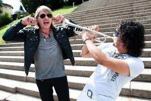 Miko a Marko. V Martine vystúpi Gladiator 5. októbra.