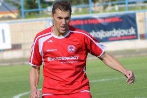 Vladimír Staš v bardejovskom drese. Aktuálne je už hráčom Šarišských Michalian. Hrať za ne bude môcť po vypršaní deväťmesačného trestu.