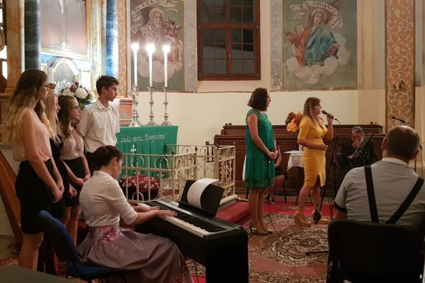 Koncert v Príbovciach.