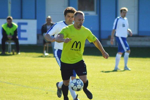 Marek Kollár dostal dôveru od začiatku zápasu a odvďačil sa dvomi gólmi.