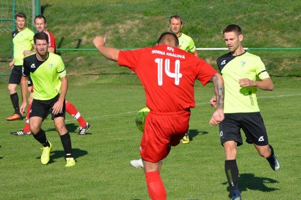 Jacovce doma porazili Hornú Kráľovú 3:0.