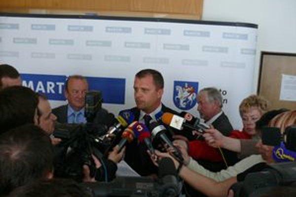 Primátora Andreja Hrnčiara postup Generálnej prokuratúry prekvapil.