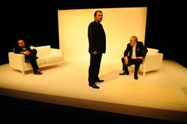Trojica hercov Horňák, Výrostko a Kožuch sú zárukou dobrej zábavy v martinskom Kumšte.