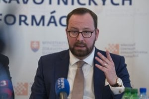 Generálny riaditeľ Národného centra zdravotníckych informácií Peter Blaškovitš.