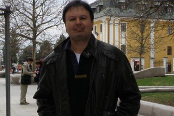 Martinský hudobník a skladateľ Ľubomír Jankovič.