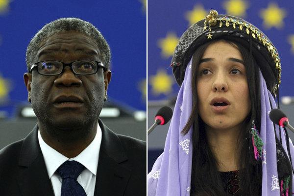 Nobelovu cenu za mier získali Denis Mukwege a Nadia Muradová.