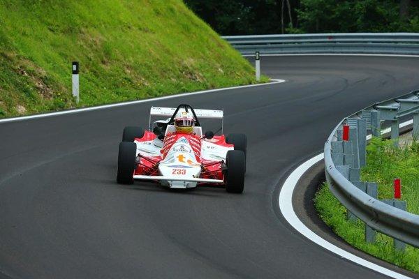 Čiliak v Talianku, na trati, kde spečatil svoj zisk titulu európskeho šampióna.