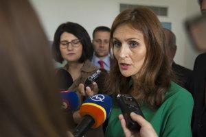 Ministerka zdravotíctva Andrea Kalavská.