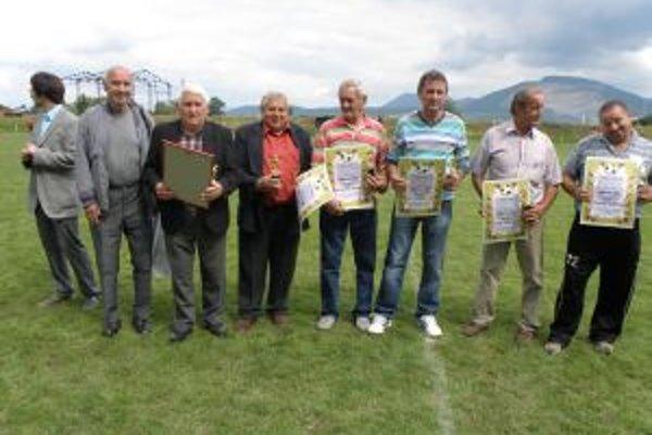 Ocenenia prbrali tí, čo sa nazaslúžili o rozvoj futbalu v obci.