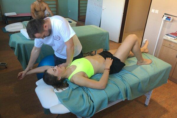 Petra Vlhová sa pripravuje na novú sezónu.