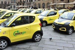Podobný systém zdieľaných áut je aj v talianskej Florencii.