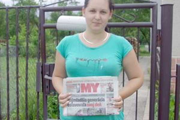 Zuzka doniesla noviny a odniesla si 20 eur.
