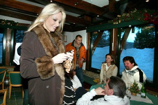 Kočner si užíval na Donovaloch luxus v spoločnosti známych tvárí.