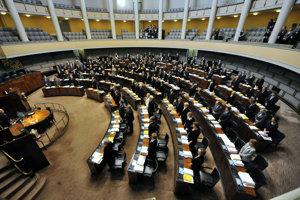Fínsky parlament.