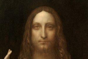 Výrez z maľby Salvator Mundi od Leonarda da Vinciho, ktorú analyzovali v štúdii.