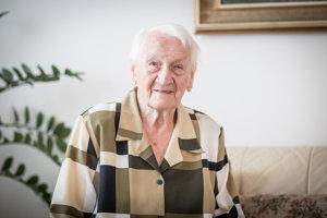 Anna Šestáková oslávila tento rok - podobne ako Československá republika - sté narodeniny.