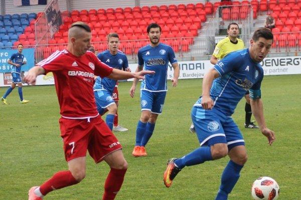 Derby Bardejova skošickou Lokomotívou víťaza nemalo.