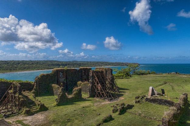 Pevnosť San Lorenzo je zapísaná v zozname UNESCO.