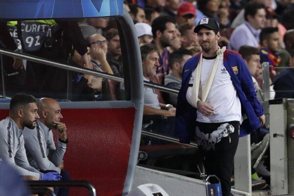Messi nie je svojmu tímu k dispozícii od 20. októbra.