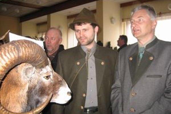 Trofeje ulovenej zveri zaujali laickú i odbornú verejnosť.