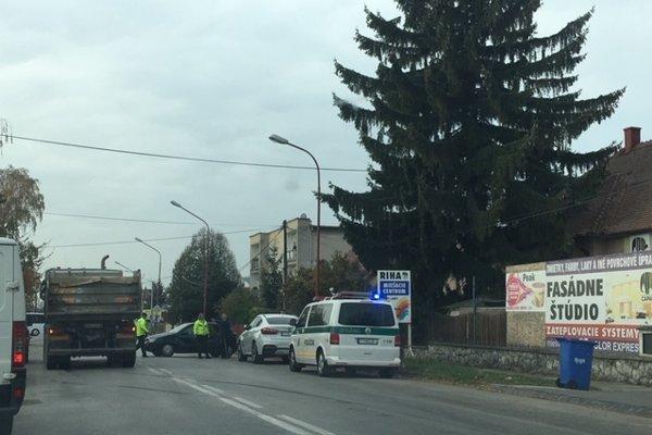 Nehoda na Bratislavskej ulici v Trnave.