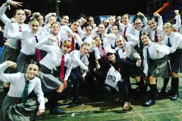 Majstri sveta v street dance show s choreografiou Harry Potter
