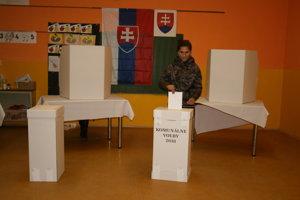 Voľby v Žehre.