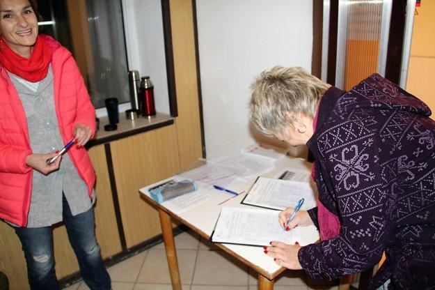 Petícia za zastropovanie veku odchodu do dôchodku v Dlhej nad Oravou.