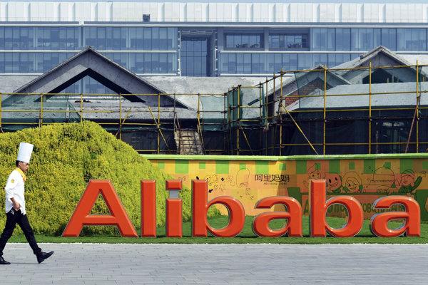 Čínsky internetový obchod Alibaba.