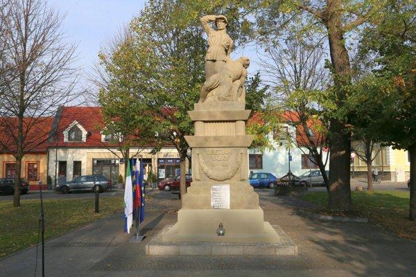 Pomník padlých v prvej svetovej vojne.