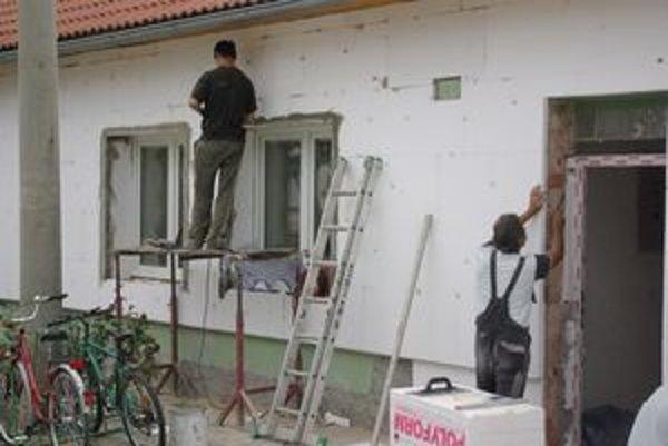 Obecný úrad prešiel značnou rekonštrukciou.