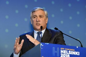 Predseda Európskeho parlamentu Antonio Tajani.
