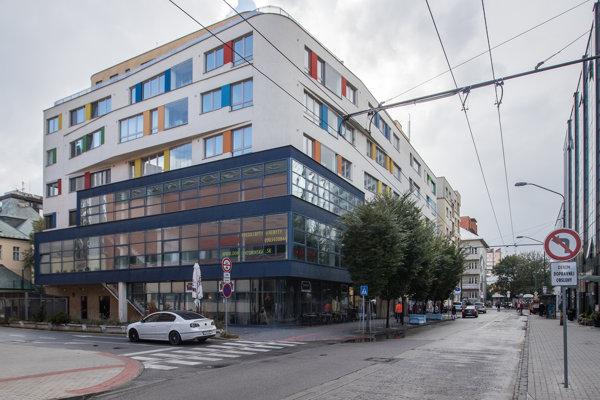Komplex Urbanic na Cintorínskej ulici v Bratislave, kde vlastní firma Mariana Kočnera osem bytov.
