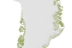 Miesto na severozápade Grónska, kde podľa všetkého dopadol veľký asteroid.