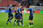 Slovensko oslavuje jasné víťazstvo.