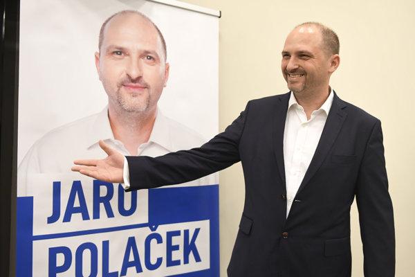 Jaroslav Polaček sa ujme funkcie primátora 10. decembra.