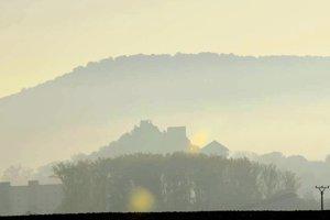 Silueta Fiľakovského hradu