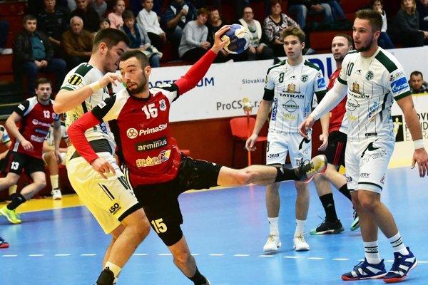 Krídelník Maroš Hájnik strelil tri góly.