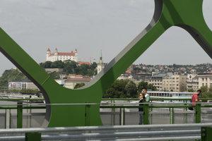 Bratislavský Starý most.