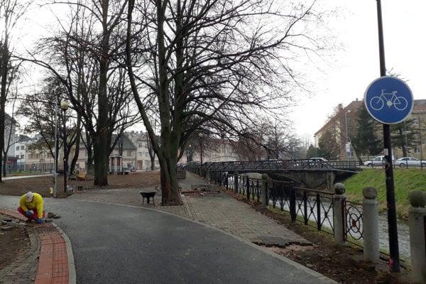 Cyklochodník v Poprade
