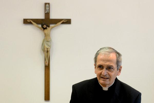Predseda Konferencie biskupov Slovenska Stanislav Zvolenský.