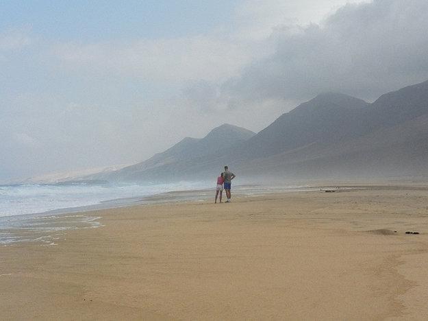 Pláž Cofete.