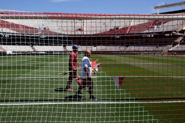 Štadión River Plate v Buenos Aires.