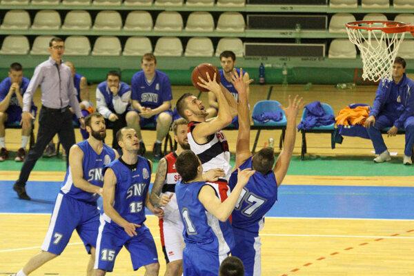 Ladislav Stojanov bol najlepším strelcom zápasu.