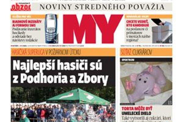 Titulka nového čísla týždenníka.